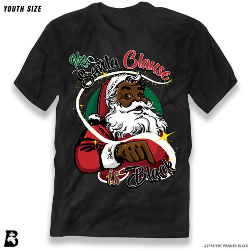 'My Santa Clause is Black' Premium Youth T-Shirt
