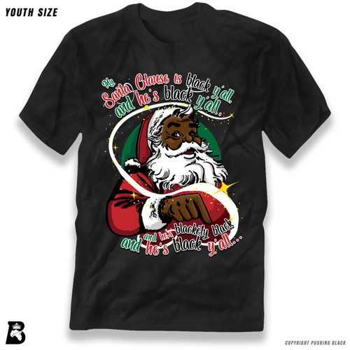 'My Santa Clause is Black Ya'll' Premium Youth T-Shirt