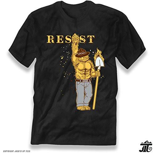 Resist' Musc Smokey The Bear Shovel Up and Blazing Premium Unisex T-Shirt