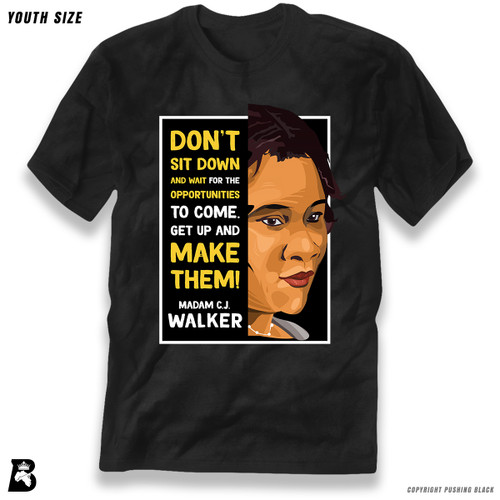 'The Legacy Collection - Madam C.J. Walker 'Don't Sit Down and Wait for the Opportunities'' Premium Youth T-Shirt
