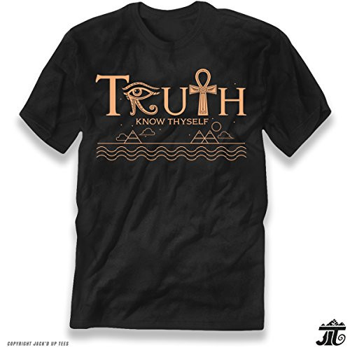 'Truth Know Thyself' Premium Graphic Unisex T-Shirt