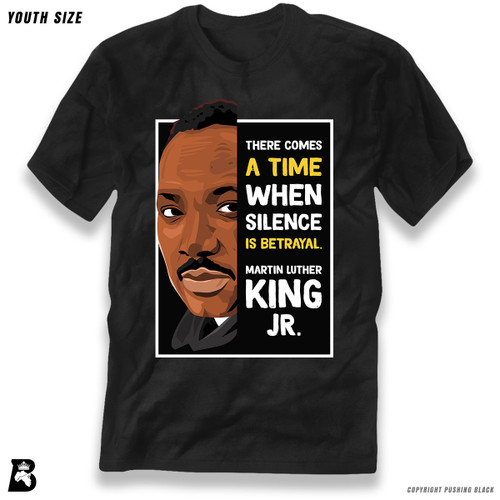'The Legacy Collection - Martin Luther King Jr. 'Silence is Betrayal'' Premium Youth T-Shirt