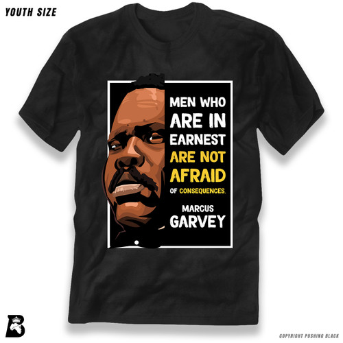 'The Legacy Collection - Marcus Garvey 'Men Who Are in Earnest'' Premium Youth T-Shirt