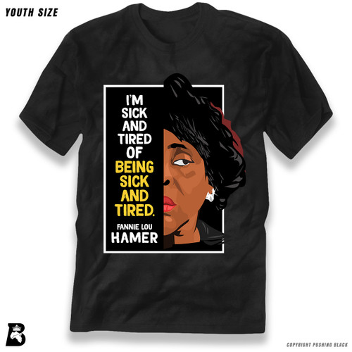 'The Legacy Collection - Fannie Lou Hamer 'Sick And Tired'' Premium Youth T-Shirt