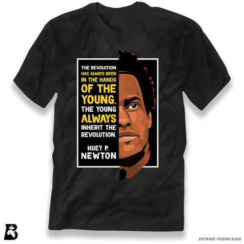 'The Legacy Collection - Huey P. Newton 'The Young Inherit the Revolution'' Premium Unisex T-Shirt