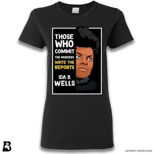 'The Legacy Collection - Ida B. Wells 'Those who Commit the Murders'' Premium Unisex T-Shirt