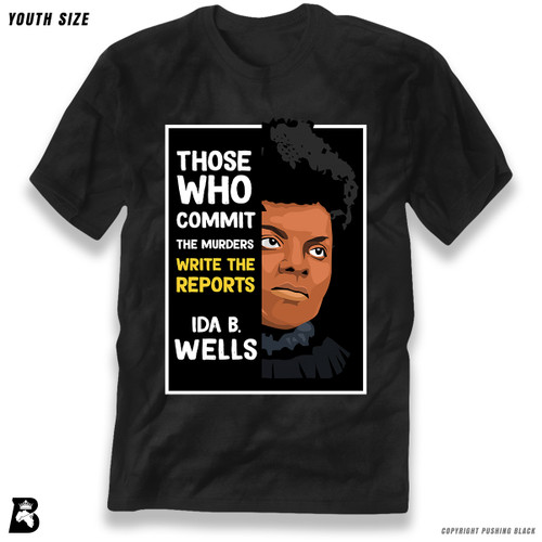 'The Legacy Collection - Ida B. Wells 'Those who Commit the Murders'' Premium Youth T-Shirt