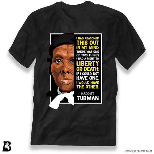 'The Legacy Collection - Harriet Tubman 'Liberty or Death'' Premium Unisex T-Shirt