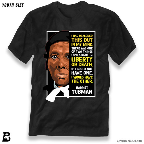 'The Legacy Collection - Harriet Tubman 'Liberty or Death'' Premium Youth T-Shirt