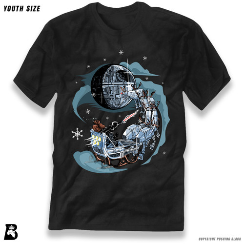 'Santa Ruling Over the Galaxy' Premium Youth T-Shirt