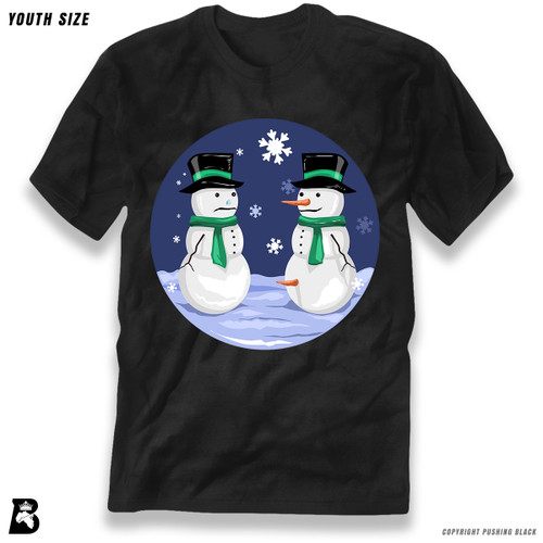 'Snowman Carrot Thief' Premium Youth T-Shirt