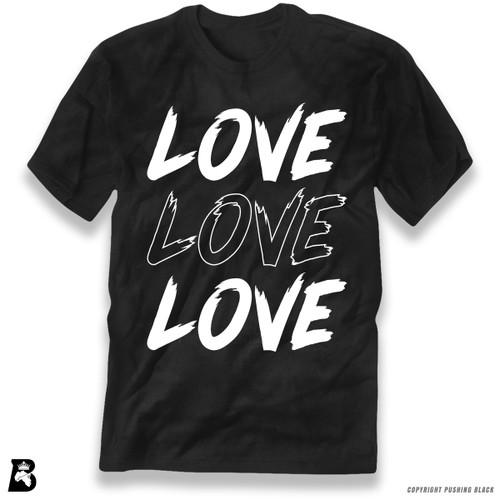 'Love Love Love' Premium Unisex T-Shirt