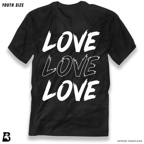 'Love Love Love' Premium Youth T-Shirt