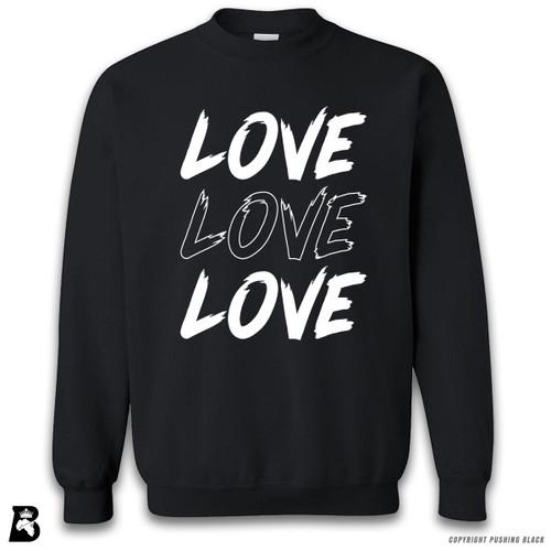 'Love Love Love' Premium Unisex Sweatshirt