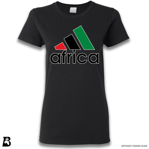 'Africa - Black, Red & Green' Premium Unisex T-Shirt