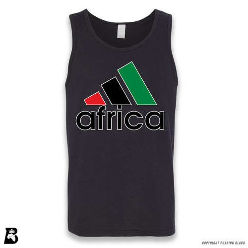 'Africa - Black, Red & Green' Sleeveless Unisex Tank Top