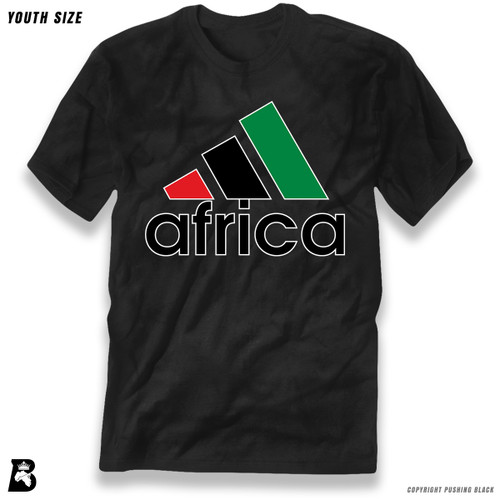 'Africa - Black, Red & Green' Premium Youth T-Shirt