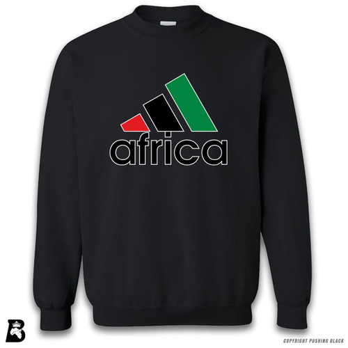 'Africa - Black, Red & Green' Premium Unisex Sweatshirt