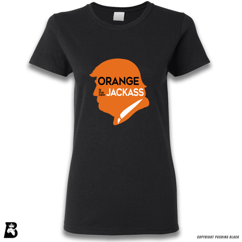 'Orange Is the New Jackass' Premium Unisex T-Shirt
