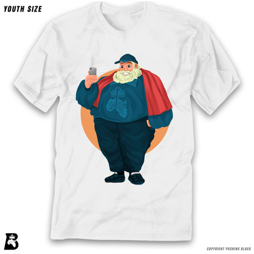 'Santa Selfie' Premium Youth T-Shirt