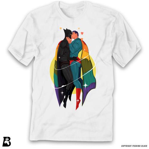 '2 White SuperQueeroes' Premium Unisex T-Shirt