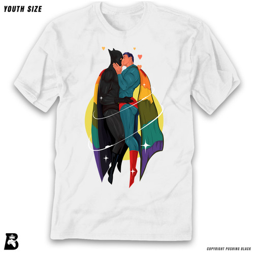 '2 White SuperQueeroes' Premium Youth T-Shirt