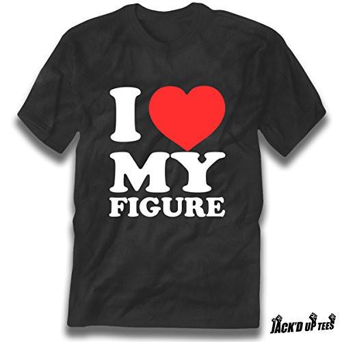 'I Love My Figure' Premium Unisex T-Shirt