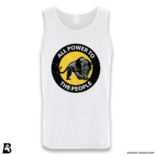 'All Power To the People' Sleeveless Unisex Tank Top