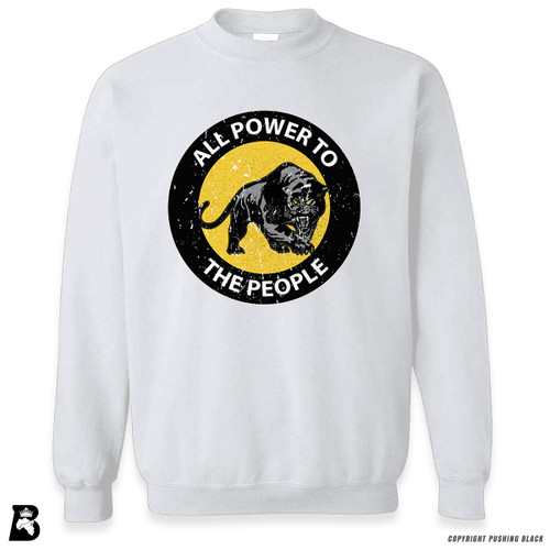 'All Power To the People' Premium Unisex Sweatshirt