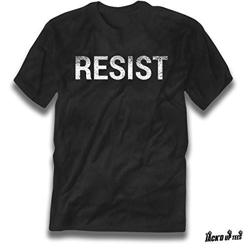 'RESIST' Distressed Print Tee - Political - Environmental Awareness