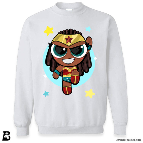 'PowerTuff Woman of Wonder' Premium Unisex Sweatshirt