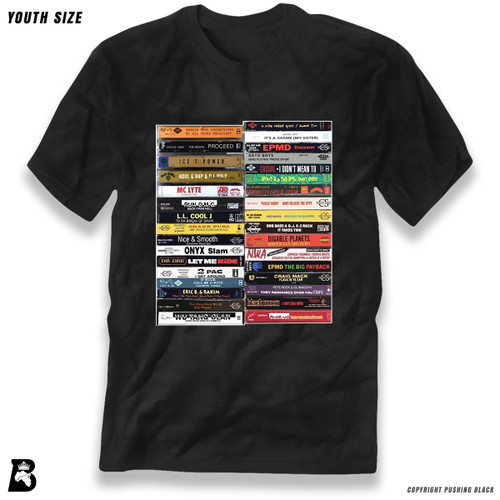 'Hip Hop Tapes' Premium Youth T-Shirt