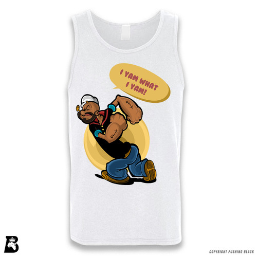 'I Yam What I Yam' Sleeveless Unisex Tank Top