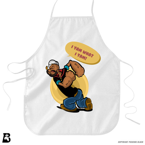 'I Yam What I Yam' Premium Canvas Kitchen Apron