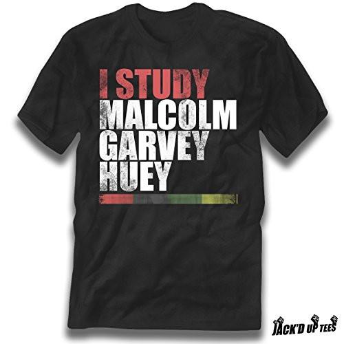 'I Study Malcolm, Garvey, and Huey' Premium Tee