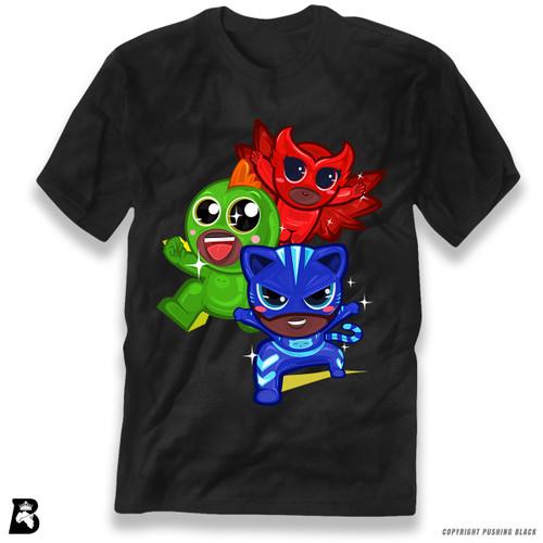 'PowerTuff Heroes' Premium Unisex T-Shirt