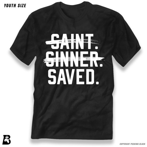 'Saint, Sinner, Saved' Premium Youth T-Shirt