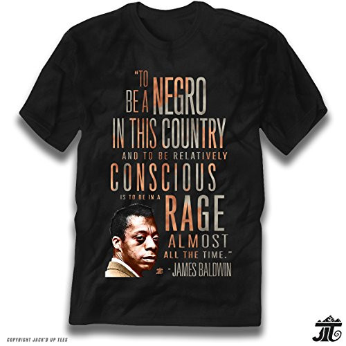 James Baldwin 'Rage Almost All The Time' Premium Unisex Tee