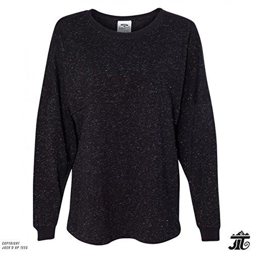 Black Glitter Premium Unisex Jersey Longsleeve T-Shirt