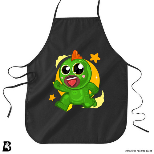 'Gecko PowerTuff  Boy' Premium Canvas Kitchen Apron
