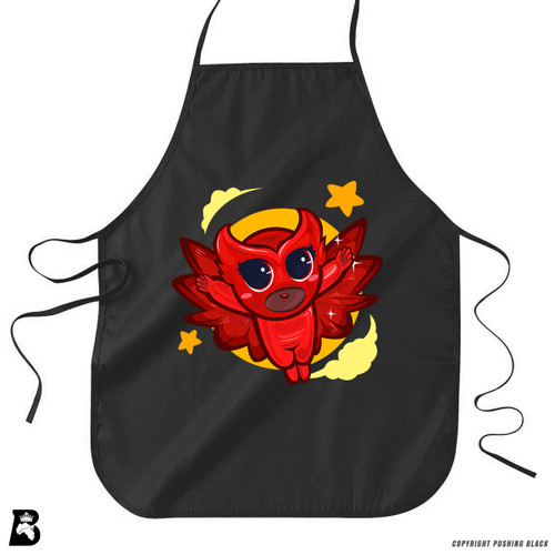 'Owly PowerTuff Girl ' Premium Canvas Kitchen Apron