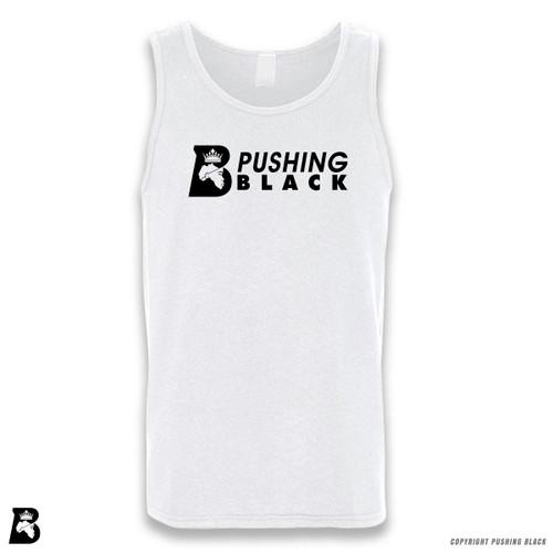 'Embrace Yourself - Pushing Black Logo' Sleeveless Unisex Tank Top