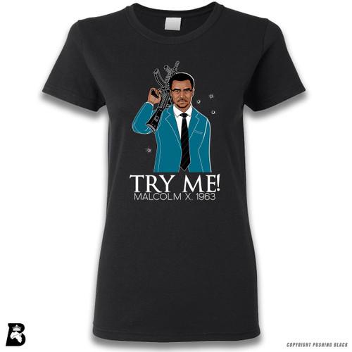 'Malcolm Shabazz - Try Me 1963 - Blue Suit' Premium Unisex T-Shirt
