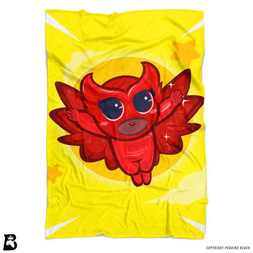 'PowerTuff Owlie' Soft Fleece Blanket Throw