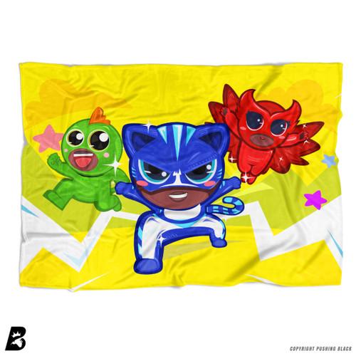 'PowerTuff Heroes' Soft Fleece Blanket Throw