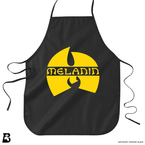 'Melanin' Premium Canvas Kitchen Apron