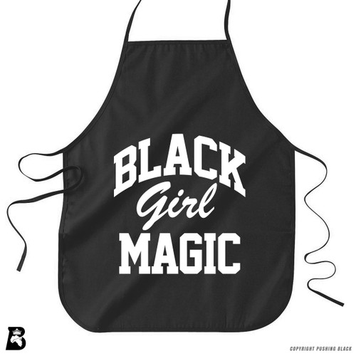 'Black Girl Magic 2' Premium Canvas Kitchen Apron