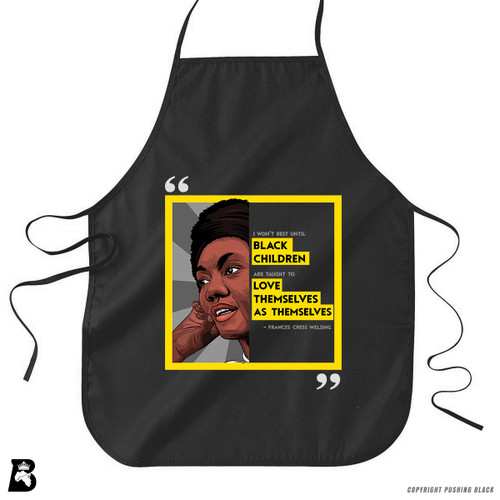 'Legacy Collection - Frances Cress Welsing' Premium Canvas Kitchen Apron