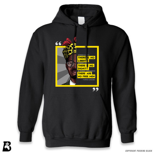 'Legacy Collection - Patrice Lumumba ' Premium Unisex Hoodie with Pocket