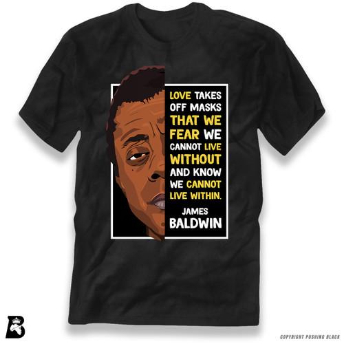 'The Legacy Collection - James Baldwin - Love' Premium Unisex T-Shirt